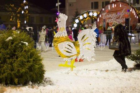 Открытие Новогоднего городка ФОТО