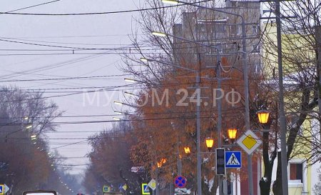 Муром простился с Владимиром Борисовым «горящими» улицами