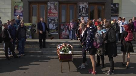 Муром простился с Николаем Горячевым
