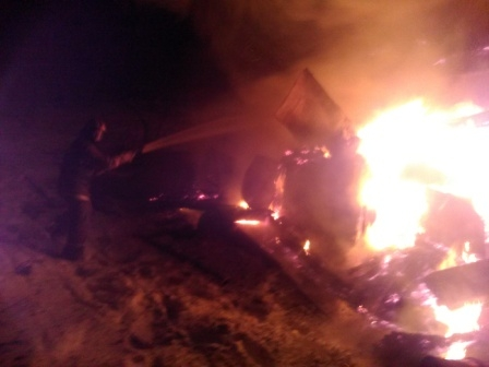 На Овражной и в деревне Ожигово сгорели дома