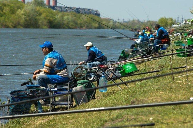 Соревнования по рыбной ловле
